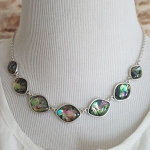 New Lucky Brand Stone Collar Necklace